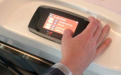 Touchscreen ovládací panel