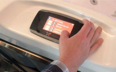 Ovládací panel vířivky Touchscreen